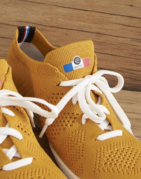 Baskets tricotées jaune Ector (3) - Maison 123