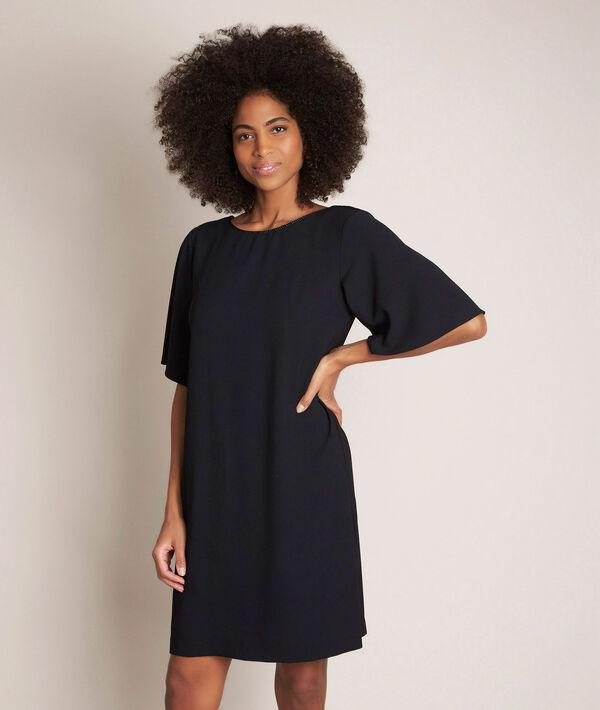 Robe noire droite Celia PhotoZ | 1-2-3
