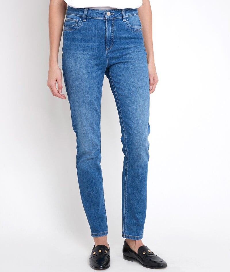 Die ikonische Slim Jeans in Stone Used-Optik Suzy PhotoZ | 1-2-3