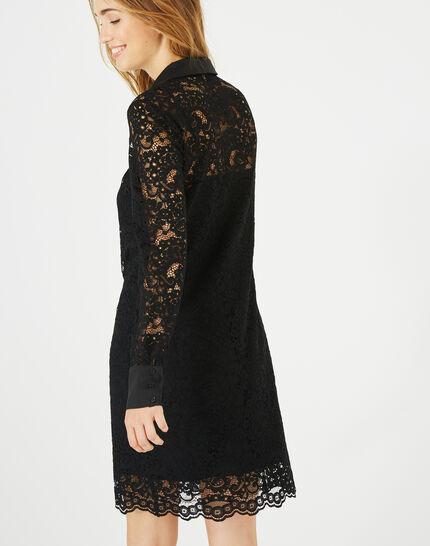 Amazone black lace dress (2) - 1-2-3
