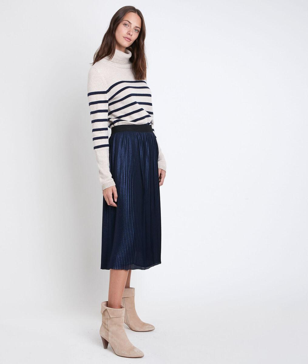 Jupe plissée brillante Gabrielle PhotoZ | 1-2-3