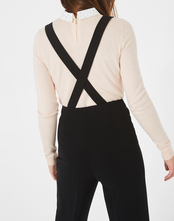 Valeur tailored black trousers with buttons and braces (4) - 1-2-3