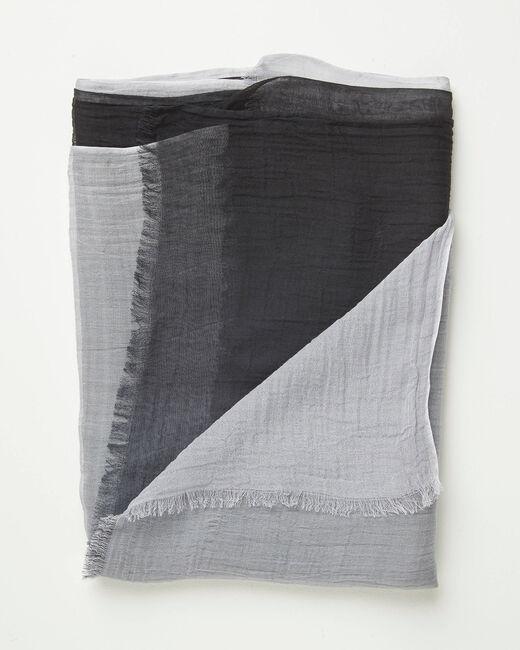 """Graues Halstuch mit """"Tie-Dye""""-Effekt Alexa (2) - 1-2-3"""
