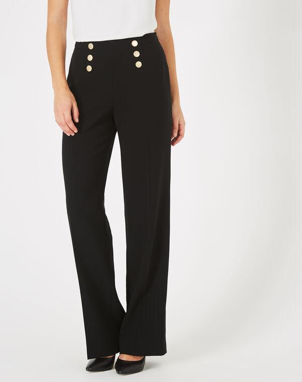 Pantalon à pont noir valeur à