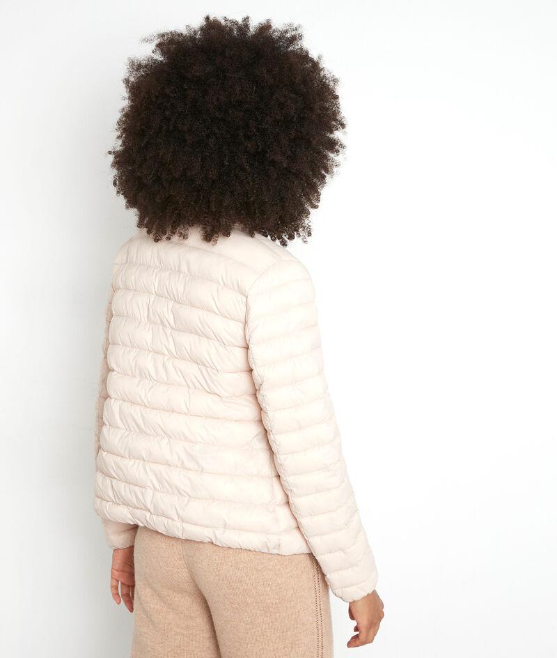 Doudoune fine en nylon beige Olivia PhotoZ | 1-2-3