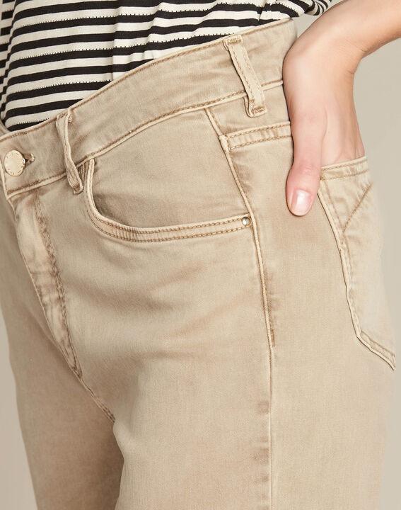 Camelfarbene 7/8-Slim-Fit-Jeans Vendome PhotoZ | 1-2-3