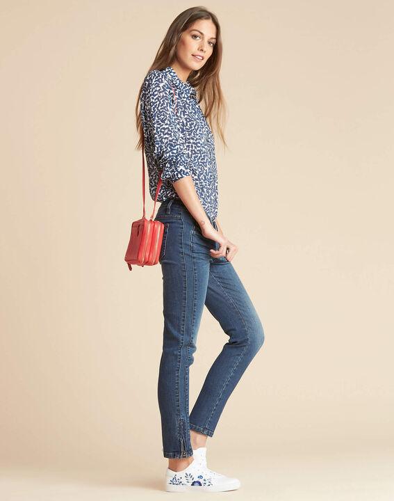 Dolly red shoulder bag with golden zip (3) - 1-2-3