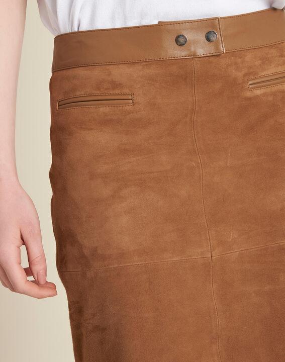 Lissandro camel leather skirt PhotoZ | 1-2-3