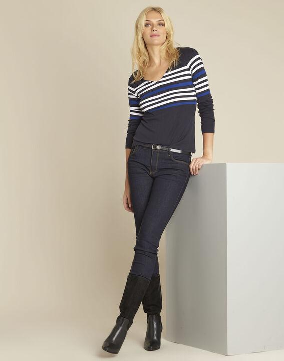 Gayure navy striped t-shirt (2) - 1-2-3