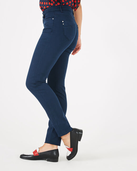 Pantalon bleu slim William (1) - 1-2-3