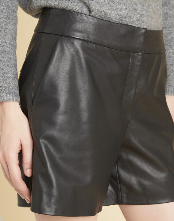 Harley leather shorts (3) - Maison 123