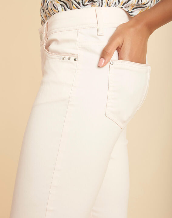 Valley regular fit pale pink slim-cut coated jeans PhotoZ | 1-2-3