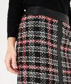Felicia black and white check skirt PhotoZ | 1-2-3