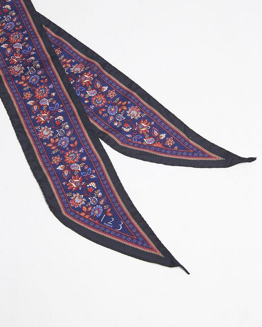 Cravate ceinture en soie imprimée Fiby (1) - 1-2-3
