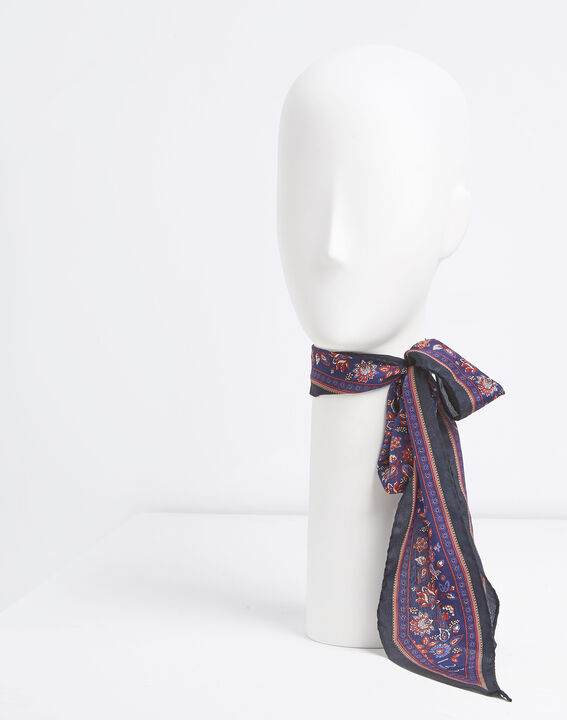 Cravate ceinture en soie imprimée Fiby PhotoZ | 1-2-3