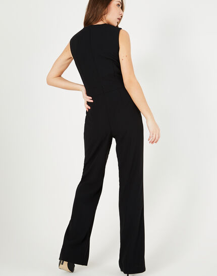 Great black playsuit with eyelets (3) - 1-2-3