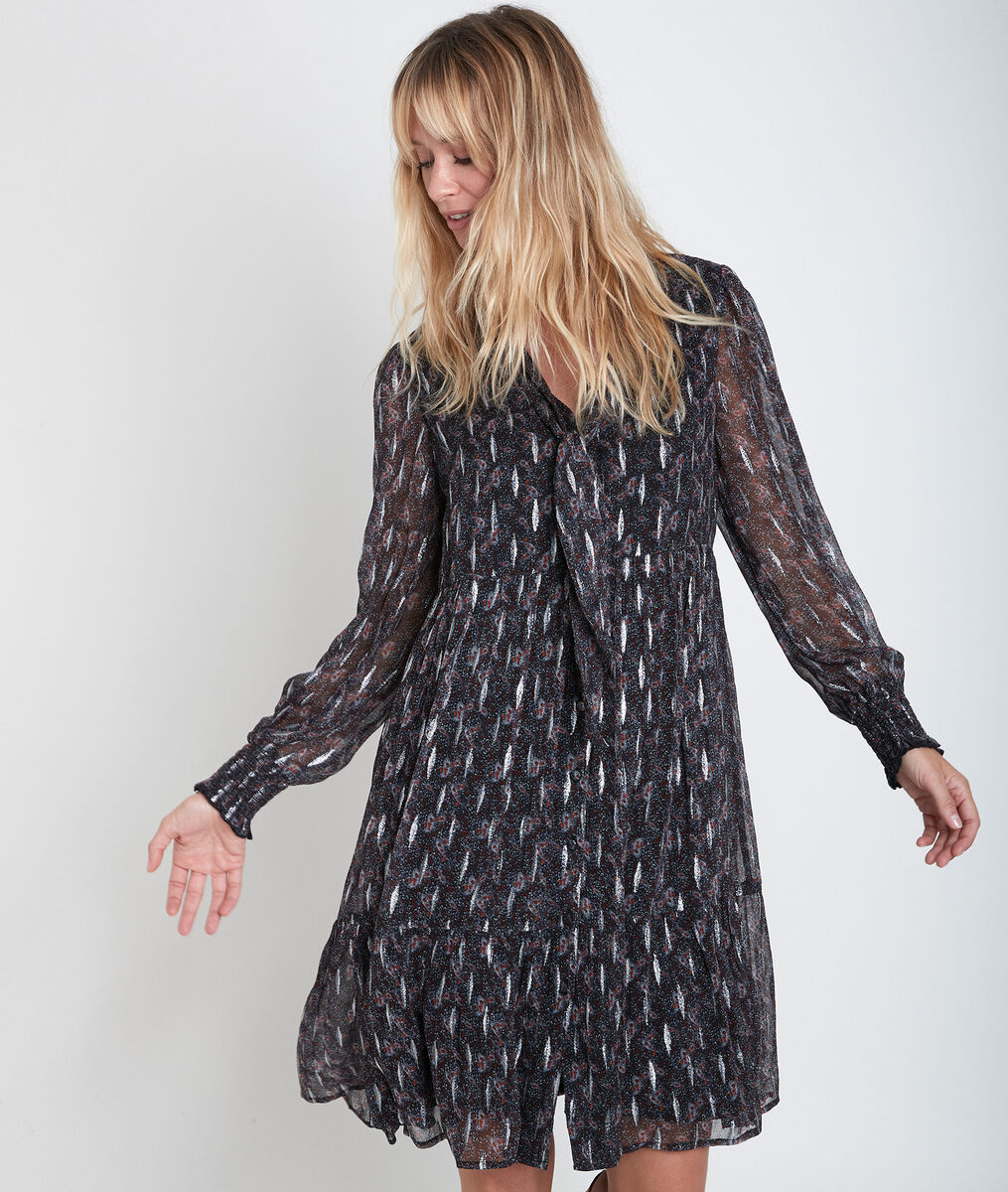 Robe impriméelavallière Nikki PhotoZ | 1-2-3