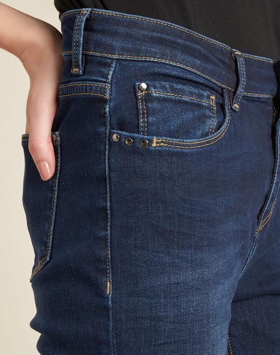 Blaue Slim-Fit-Jeans mit normaler Leibhöhe Vendome PhotoZ | 1-2-3