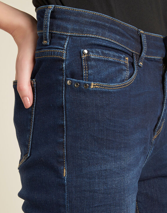 Vendôme slim-cut standard size raw-denim jeans PhotoZ   1-2-3