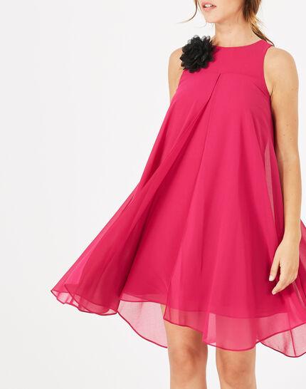 Garance fuchsia floral printed dress (1) - 1-2-3
