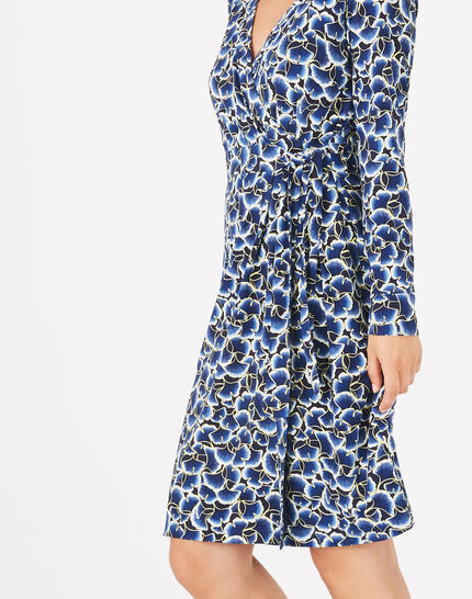 Augustine printed jersey dress (3) - 1-2-3