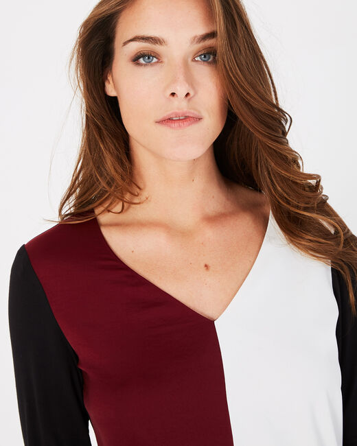Tee-shirt noir et rose Bradley (2) - 1-2-3