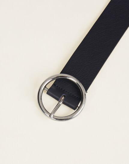 Olivia navy blue leather belt (1) - 1-2-3