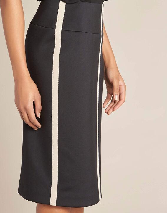 Lotus black skirt with contrasting trim PhotoZ   1-2-3