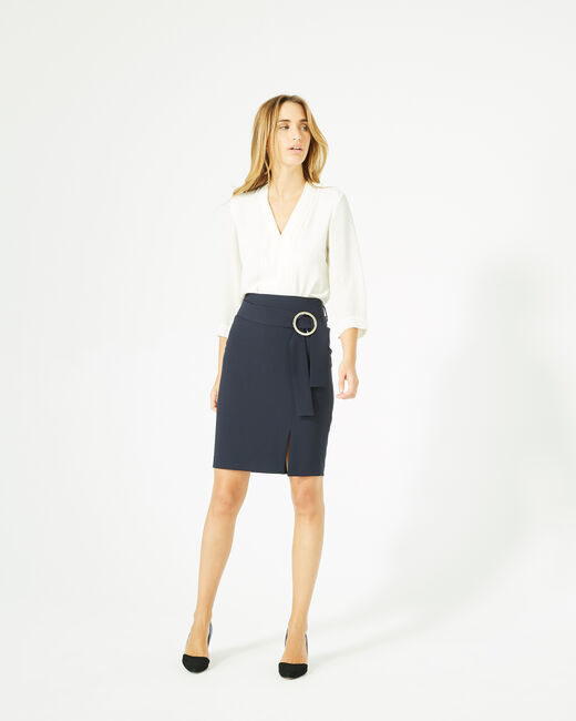 Feeling skirt with buckled fabric (2) - 1-2-3