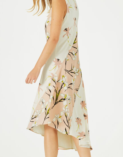 Beverly mid-length printed dress (2) - 1-2-3