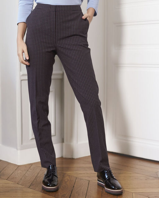 Pantalons – Pantalons droits, 7 8, fluides, tailleurs...- 1-2-3 66d2bfe70f37