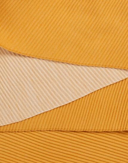 Echarpe bicolore jaune Elila (2) - 1-2-3