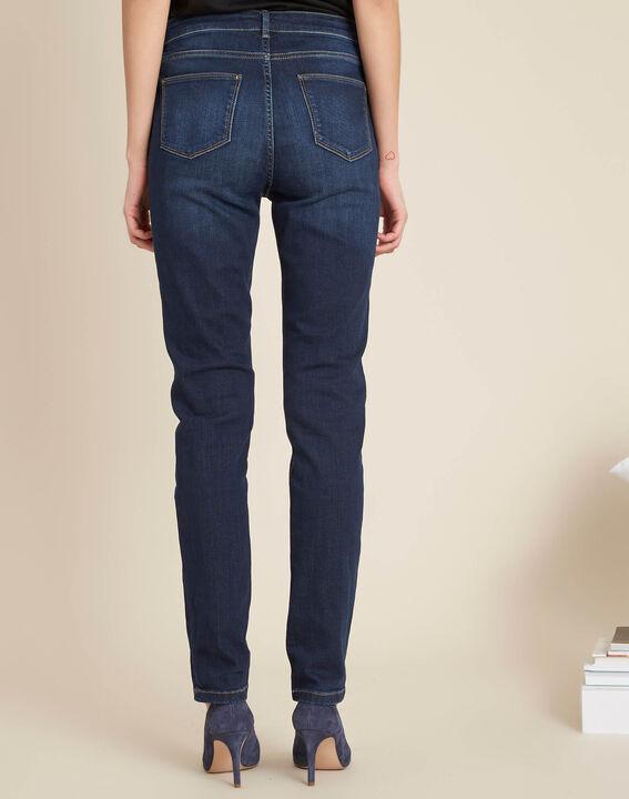 Blaue Slim-Fit-Jeans mit normaler Leibhöhe Vendome (4) - 1-2-3