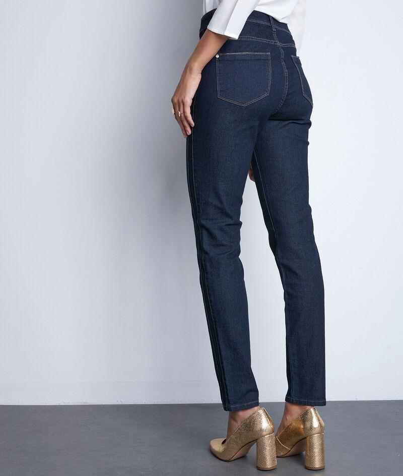 Jean slim en coton bleu denim Paola PhotoZ | 1-2-3