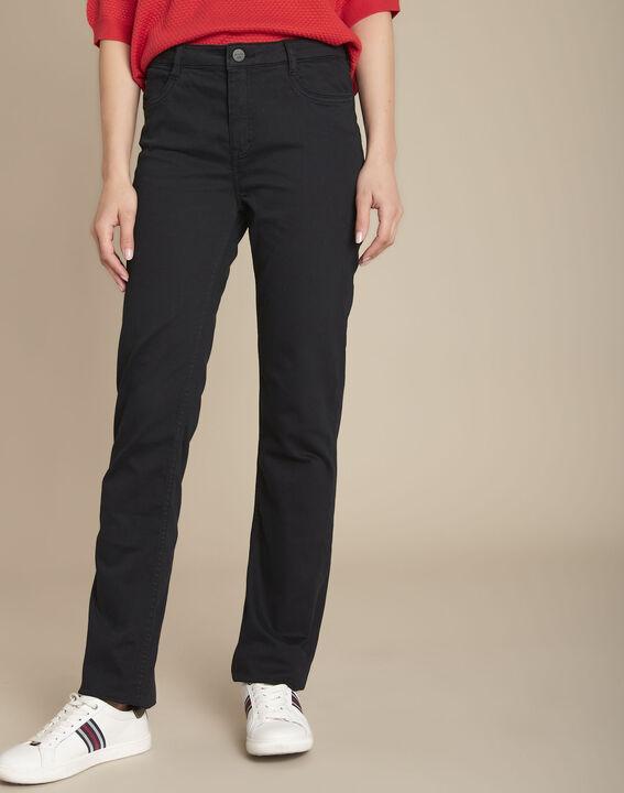 L'original 123 jean droit noir Sarah PhotoZ | 1-2-3