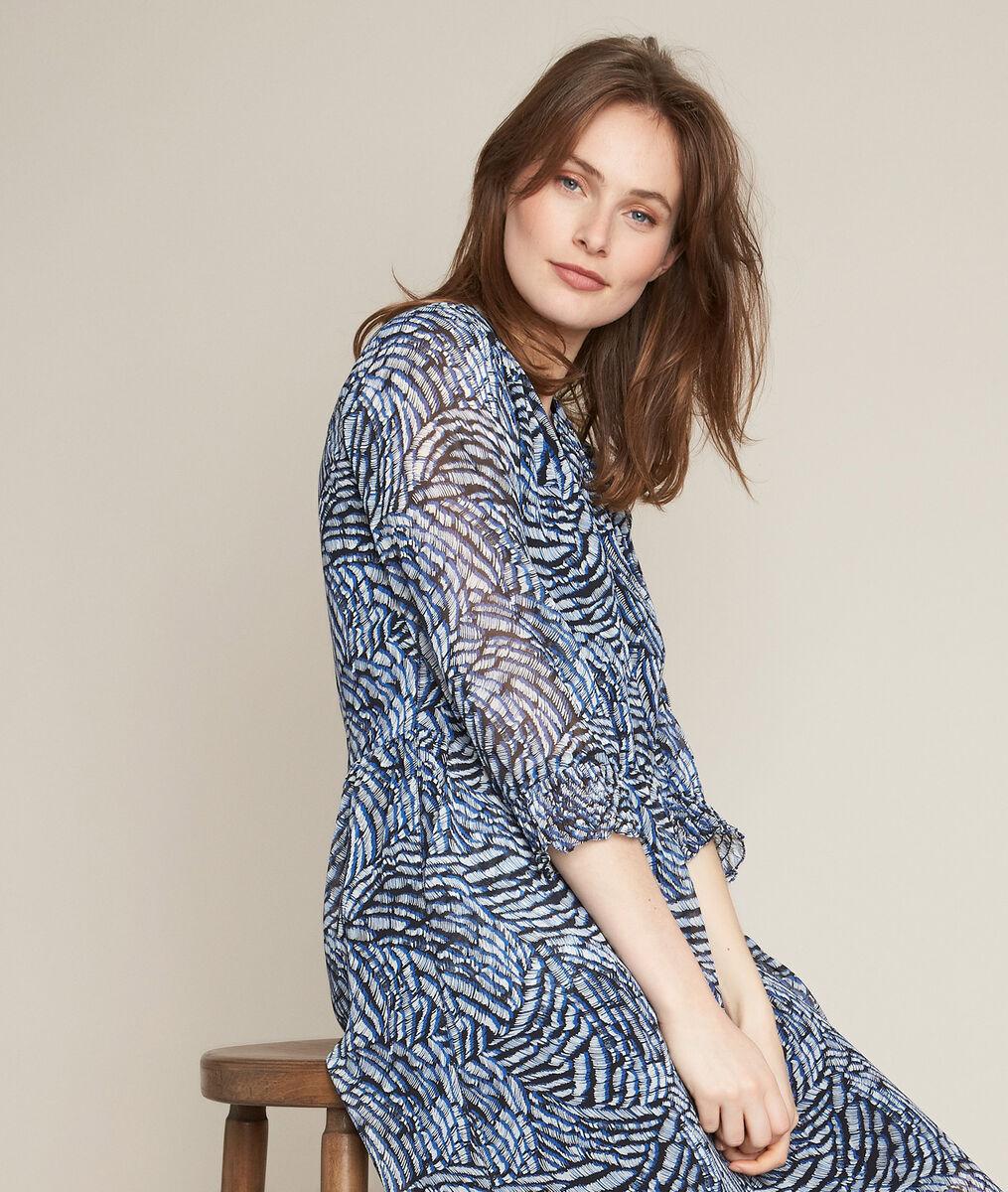 Robe Longue Imprimee Libra Femme Maison 123