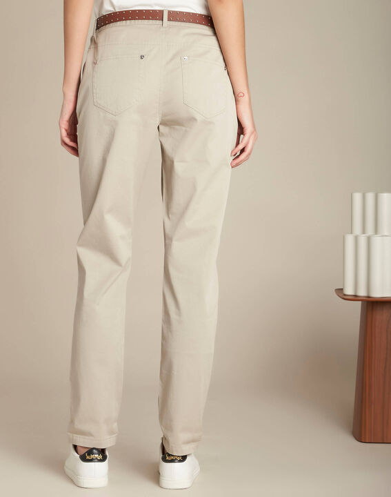 Francis slim-cut cotton trousers (4) - 1-2-3