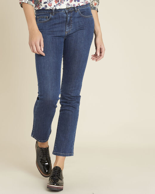 7/8 Flared Jeans aus Raw Denim Victor (1) - 1-2-3