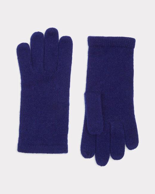 Gants bleus en cachemire Tulipe (1) - 1-2-3