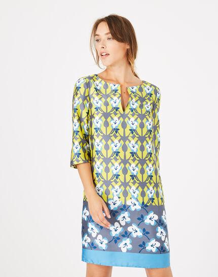 Brooklyn printed dress (2) - 1-2-3