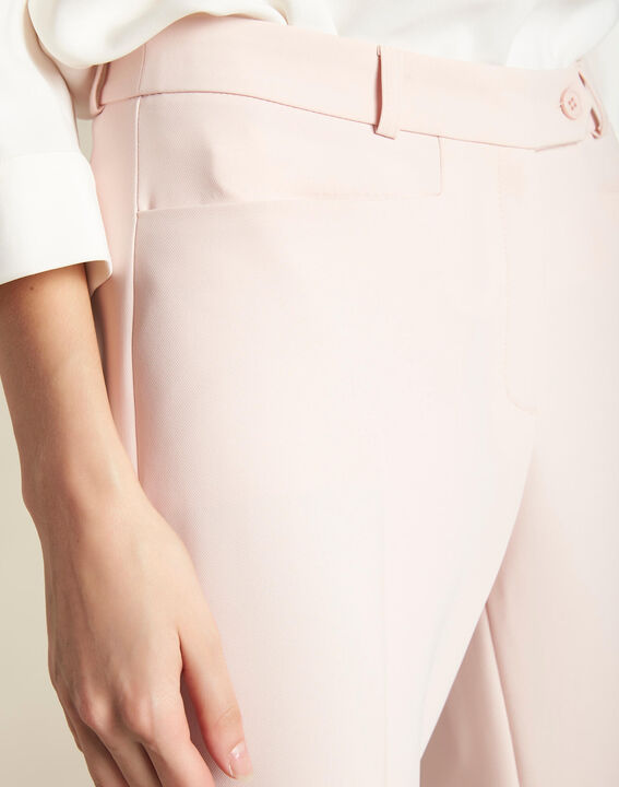 Pantalon de tailleur nude à pinces Valero PhotoZ | 1-2-3