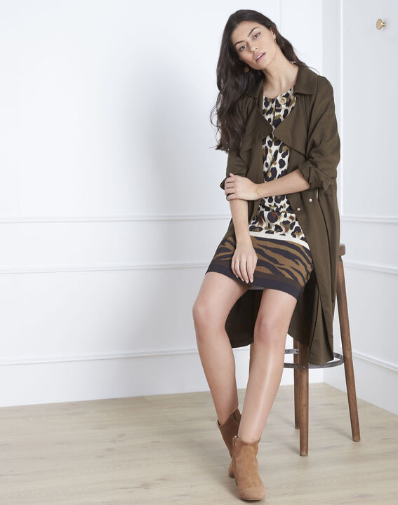 Robe imprimé animalier Livia (2) - Maison 123