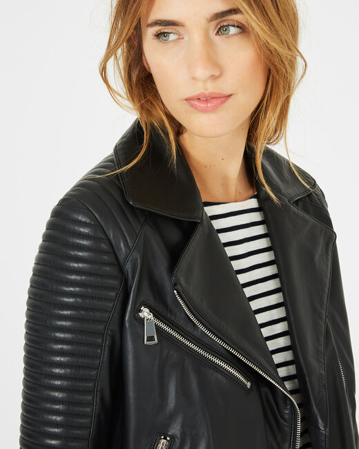Hadrien black leather jacket (1) - 1-2-3