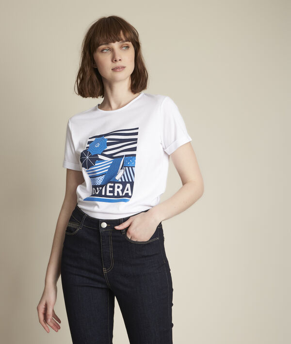Tee-shirt sérigraphié Riviera PhotoZ | 1-2-3