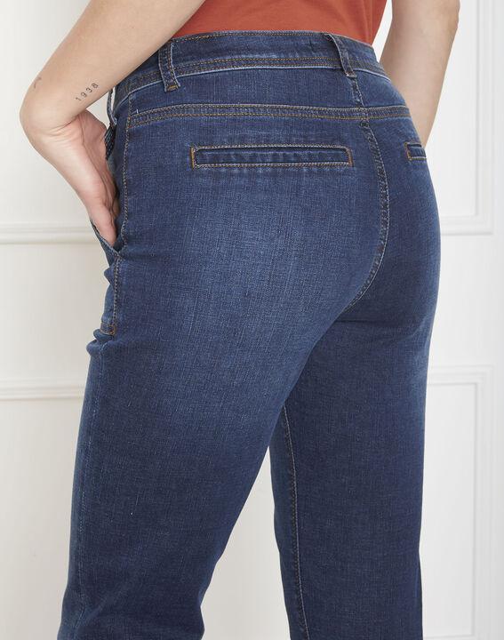 Jean indigo slim poches Charles (4) - Maison 123