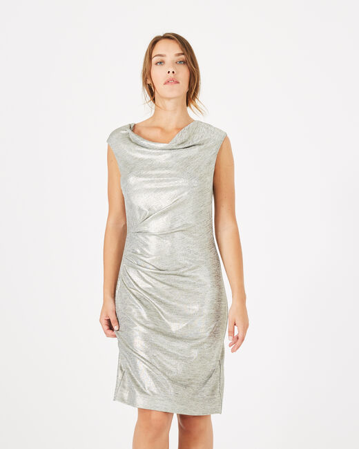 Assina silvery shiny dress (2) - 1-2-3
