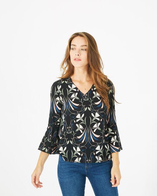 Tee-shirt imprimé floral Begonia (2) - 1-2-3