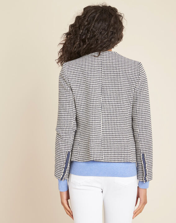 Carmela houndstooth print jacket (4) - 1-2-3