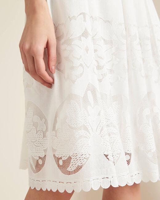 Dulcina mid-length lace skirt (2) - 1-2-3