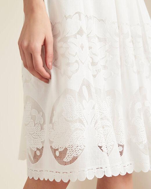 Dulcina mid-length lace skirt (1) - 1-2-3